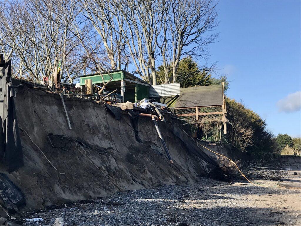 coastal erosio