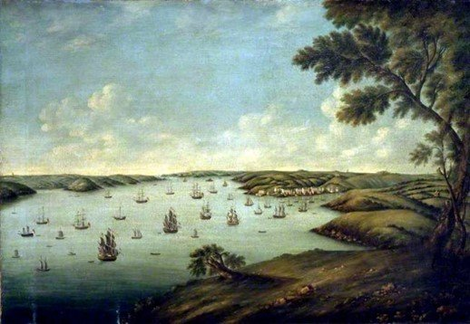 Milford-Haven-Harbour-1776-by-George-Attwood-