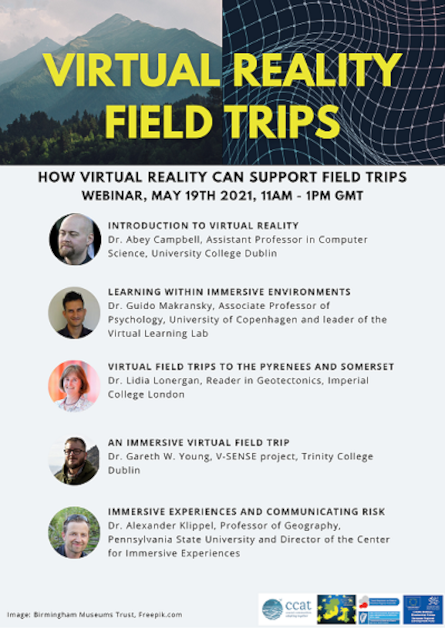 VR event flyer